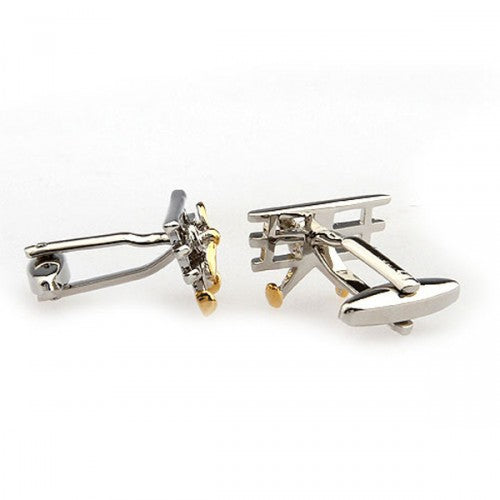 Vintage-Airplane-Gold-Modalooks-Cufflinks-3