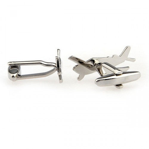 Light-sport-aircraft-Silver-Modalooks-Cufflinks-3