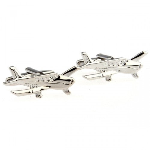 Light-sport-aircraft-Silver-Modalooks-Cufflinks-4