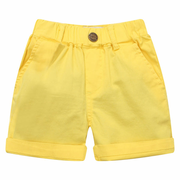 Bambinilooks-Bambini-Kid-Kids-Kidslooks-Modalooks-Shorts-Cotton-Bright-Sun-Yellow-1