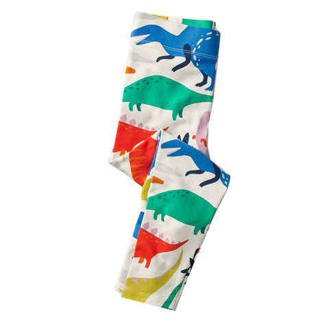 Bambinilooks-Bambini-Kids-Kidslooks-Girls-Leggings-Pants-Dinosaur