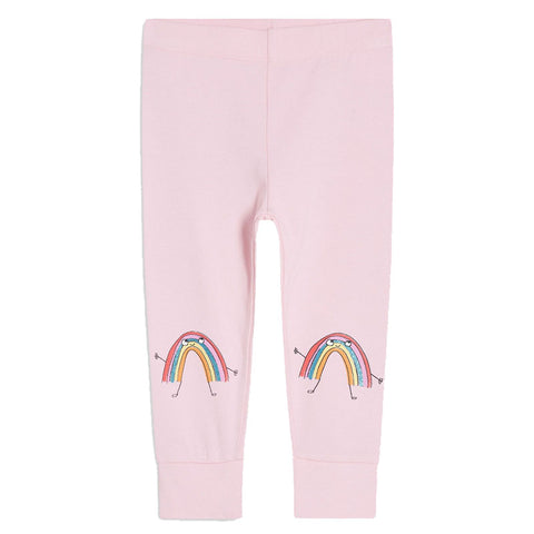 Bambinilooks-Bambini-Kids-Kidslooks-Girls-Leggings-Pants-Smiley-Rainbow