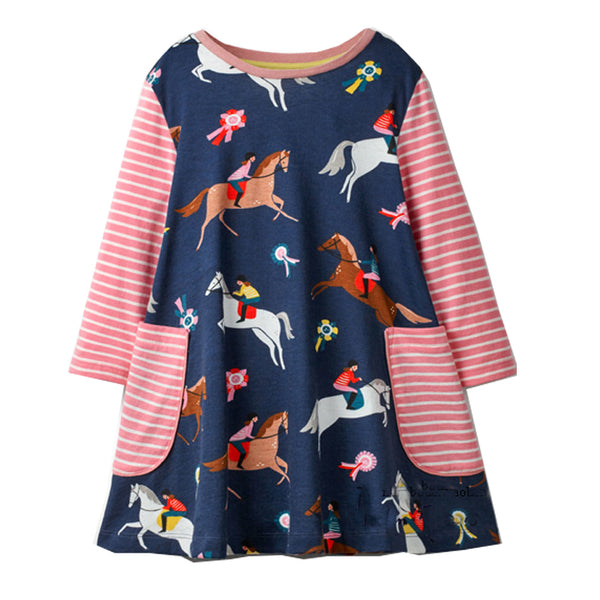 Bambinilooks-Bambini-Kidslooks-Kids-Girls-Dress-Long-Sleeve-Polo
