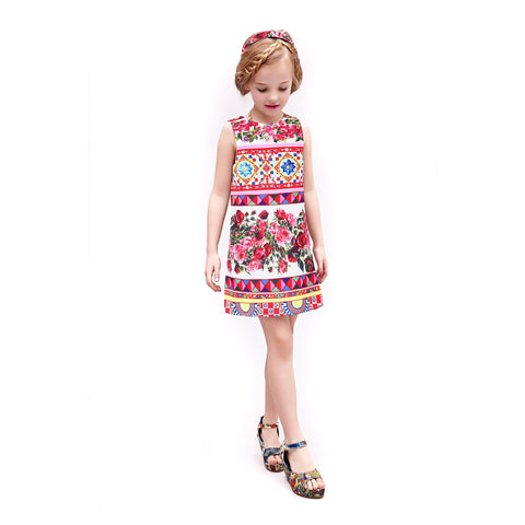 Bambinilooks-Bambini-Kidslooks-Kids-Girls-Dress-Sleeveless-Capella-Model-2