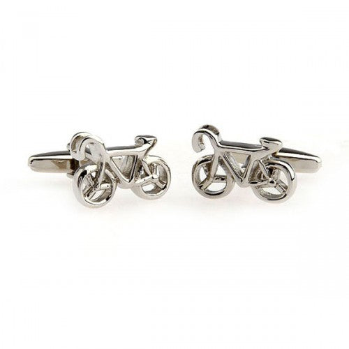 Bicycle-Bike-Silver-Modalooks-Cufflinks