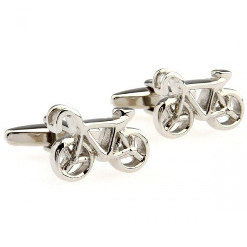 Bicycle-Bike-Silver-Modalooks-Cufflinks-Close-Up