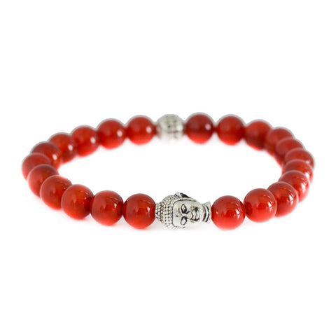 Modalooks-Buddha-8mm-Red-Agate--Beads-Bracelet