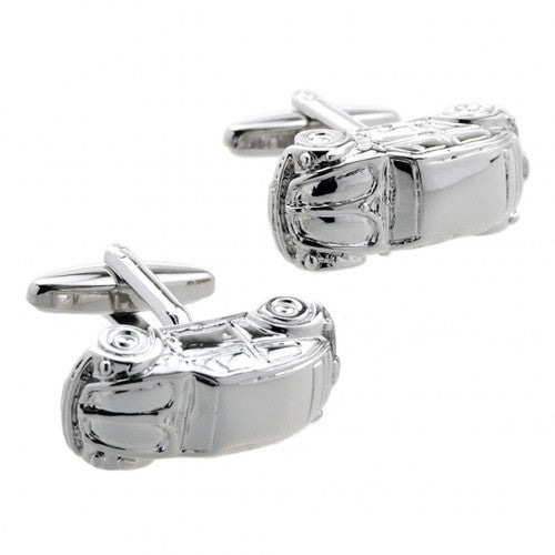 Car-Beetle-Silver-Vehicle-Cufflinks-Modalooks