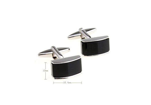 Modalooks-Formal-Black-Agate-Rectangle-Cufflink-Dimensions
