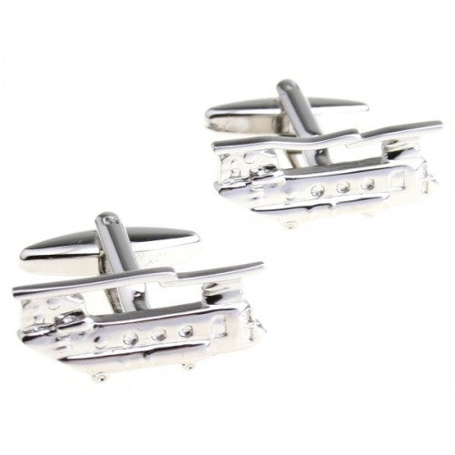 Helicopter-Army-Military-Silver-Modalooks-Cufflinks