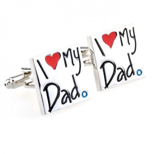 I-Love-My-Dad-Silver-Cufflinks-Modalooks