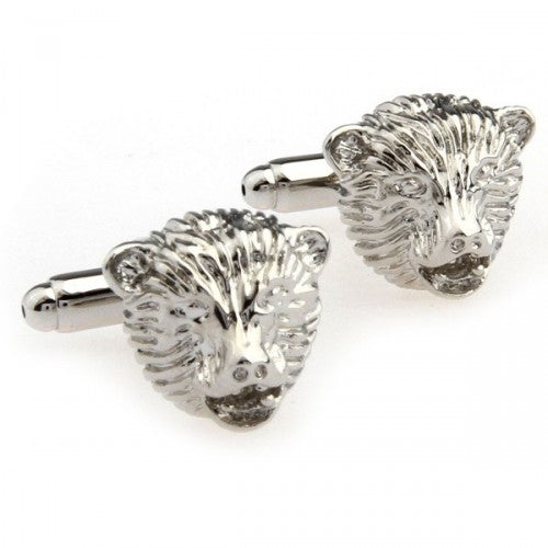 Lion-3D-Silver-Modalooks-Cufflinks-Close-Up