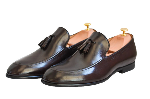 Modalooks-1st-Layer-Cow-Leather-Handmade-Shoes-Loafers-Gentleman-Front-Shot