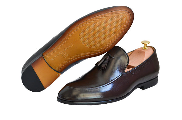 Modalooks-1st-Layer-Cow-Leather-Handmade-Shoes-Loafers-Gentleman-Outsole