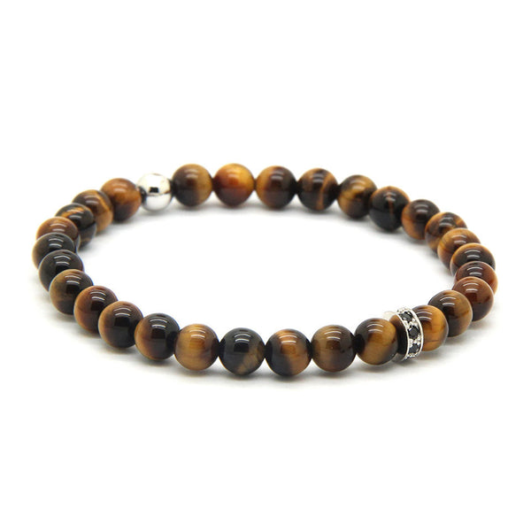 Diamonds Stopper Tiger Eye