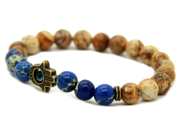 Modalooks-Bracelet-Men-Male-Hamsa-Hand-Picture-Jasper-Sea-Sediment-Blue