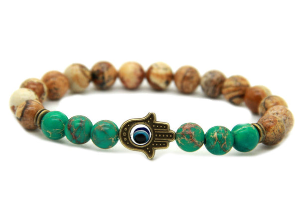 Modalooks-Bracelet-Men-Male-Hamsa-Hand-Picture-Jasper-Sea-Sediment-Dark-Green