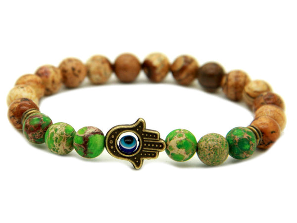 Modalooks-Bracelet-Men-Male-Hamsa-Hand-Picture-Jasper-Sea-Sediment-Green
