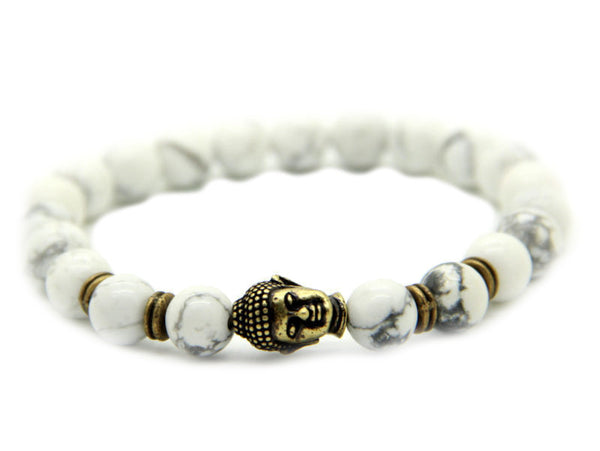Modalooks-Bracelet-Women-Men-Unisex-Female-Male-Buddha-Howlite-Bronze