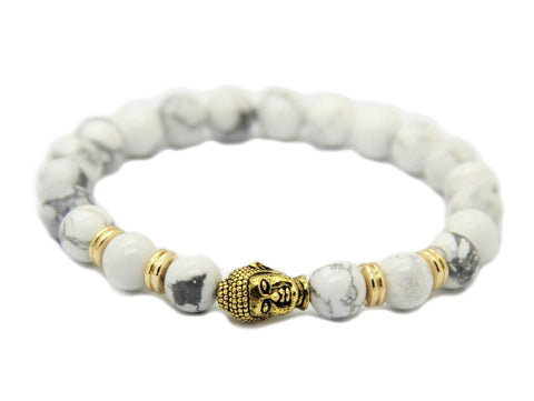 Modalooks-Bracelet-Women-Men-Unisex-Female-Male-Buddha-Howlite-Gold