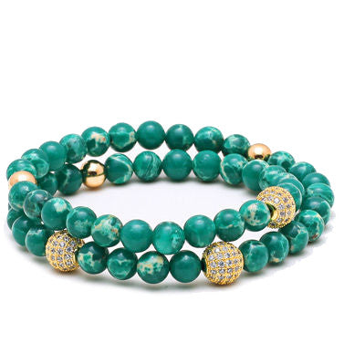 Modalooks-Bracelet-Women-Men-Unisex-Female-Male-Gold-Plated-CZ-Green-Sea-Sediment
