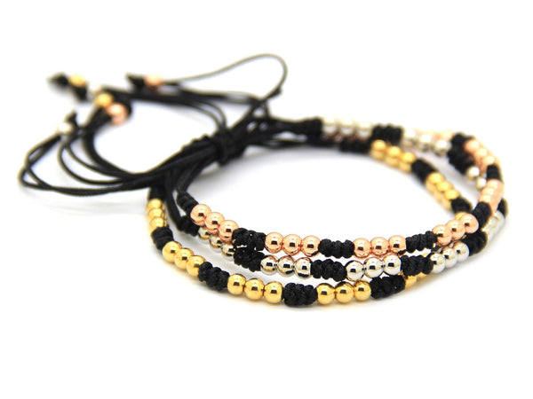 Modalooks-Bracelet-Women-Men-Unisex-Female-Male-Macrame-Plated-Rose-Gold-White