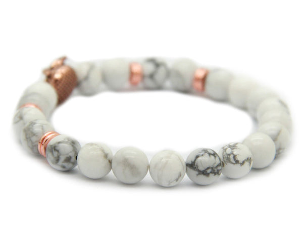 Modalooks-Bracelet-Women-Men-Unisex-Female-Male-Owl-Howlite-Rose-Gold-Back
