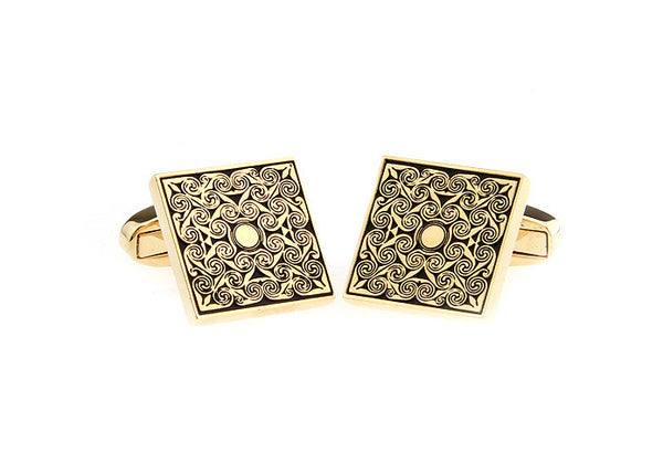 Modalooks-Formal-Square-Gold-Cufflink