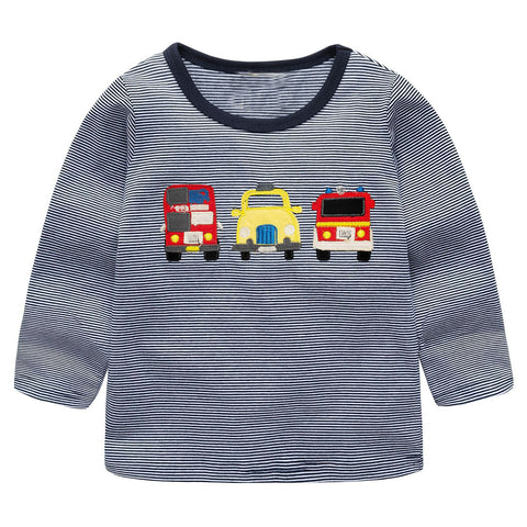 Modalooks-Kidslooks-Bambinilooks-Cars-Long-Sleeve-Shirt-Cotton