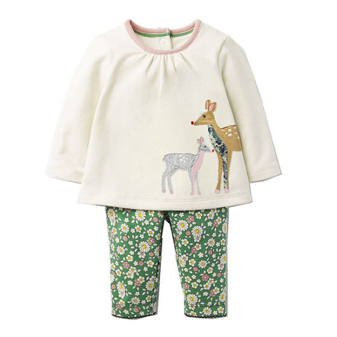 Modalooks-Kidslooks-Bambinilooks-Deer-Set-Pants-Shirt-Cotton-Long-Sleeve