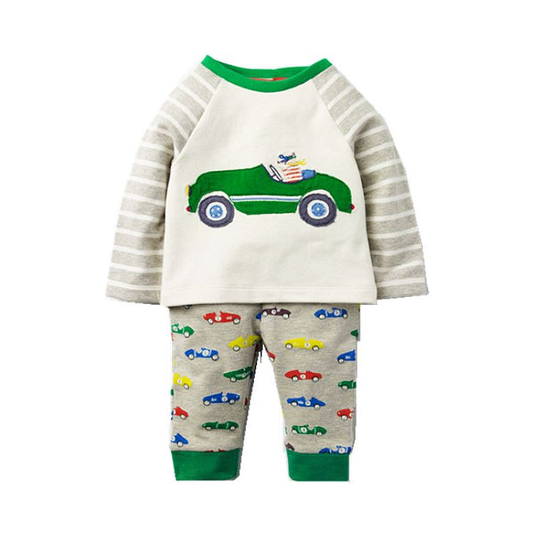Modalooks-Kidslooks-Bambinilooks-Sports-Car-Set-Pants-T-Shirt-Cotton-Long-Sleeve