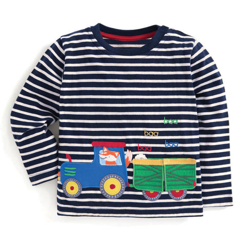 Modalooks-Kidslooks-Bambinilooks-Train-Long-Sleeve-Shirt-Cotton
