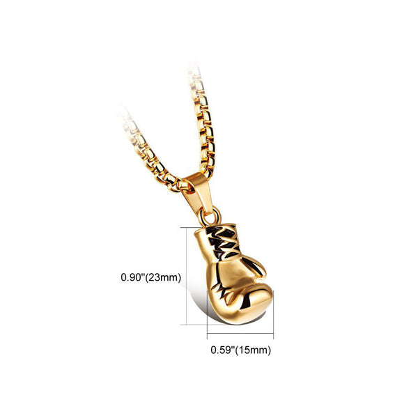 Modalooks-Mens-Boxing-Glove-Necklace-18K-Gold-Plating-316L-Stainless-Steel-Base-Dimensions