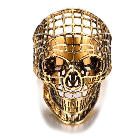 Modalooks-Ring-Men-Male-Plated-Gold-Skull-Spider-Net
