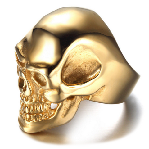 Modalooks-Ring-Men-Male-Plated-Skull-Gold-Side