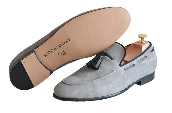 Modalooks-Suede-Goat-Leather-Handmade-Shoes-Loafers-Dapper-Outsole