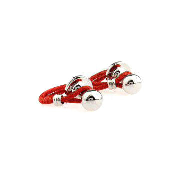 Modalooks-Semi-Casual-Loop-Cufflinks-Red