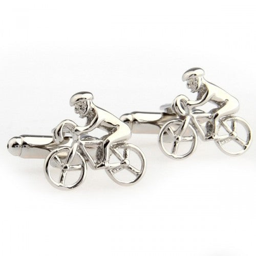 Sport-Bicycle-Bike-Silver-Modalooks-Cufflinks