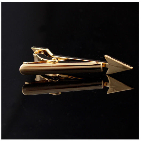 Modalooks-Tie-Bar-Clip-Arrow-Gold-Back-Side