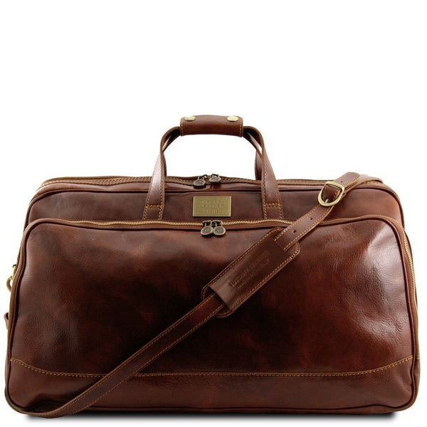Bora Bora - Trolley leather bag - Large size