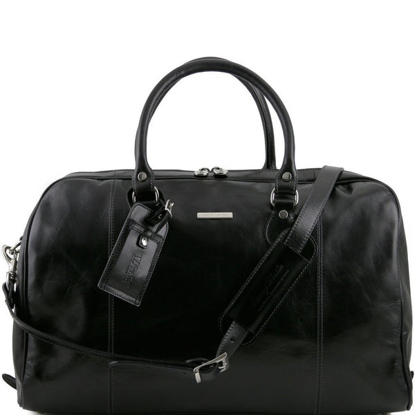 TL Voyager - Travel leather duffle bag