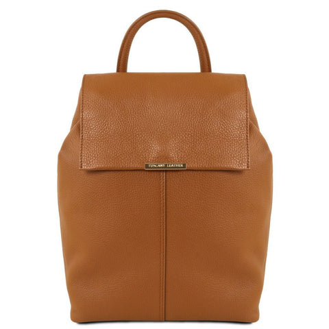 TL Bag - Soft leather backpack for women