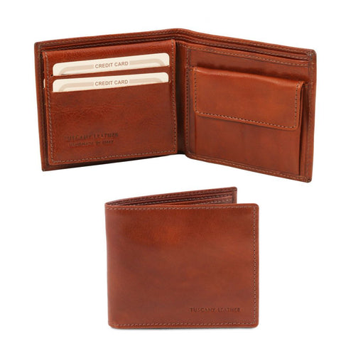 Exclusive 3 fold leather wallet for men