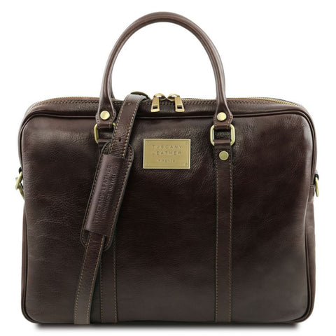 Prato - Exclusive leather laptop case