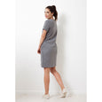 Charlie Dress Short | Charcoal
