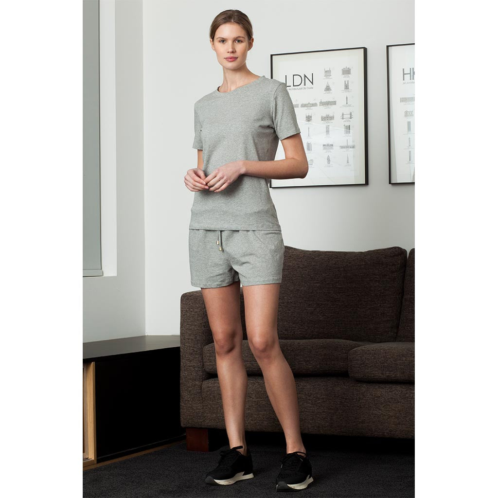 Track Shorts | Melange Grey