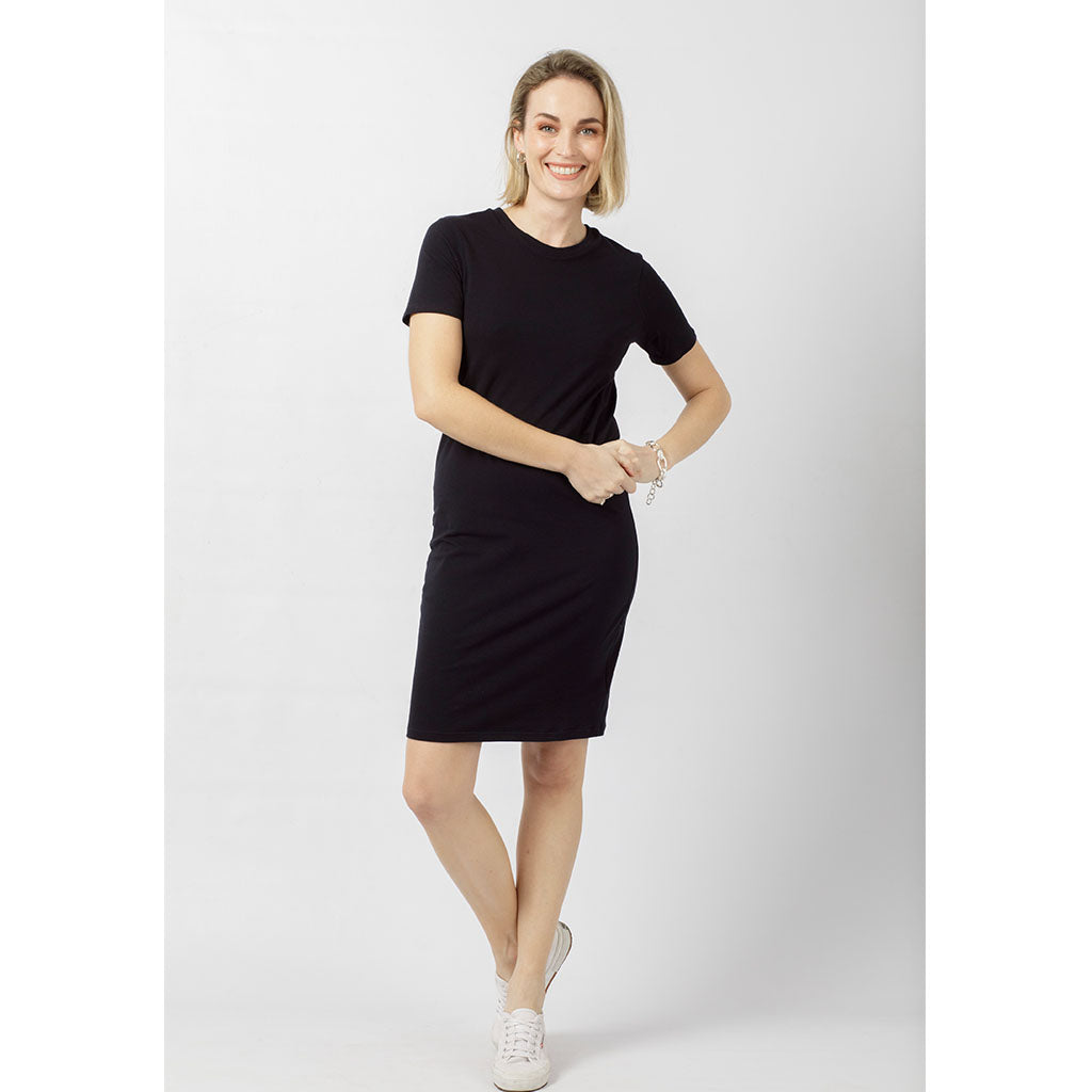Charlie Dress Short | Black