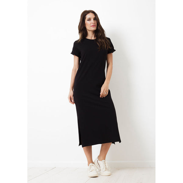 Charlie Dress Long | Black