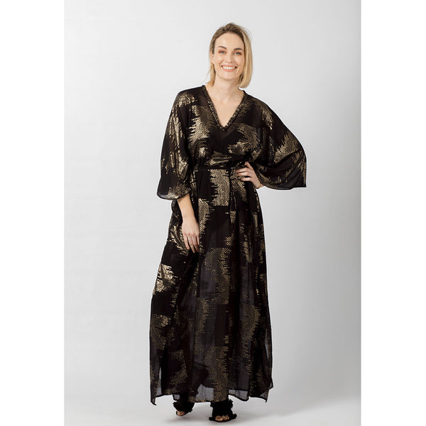 Paltrow Kaftan | Gold