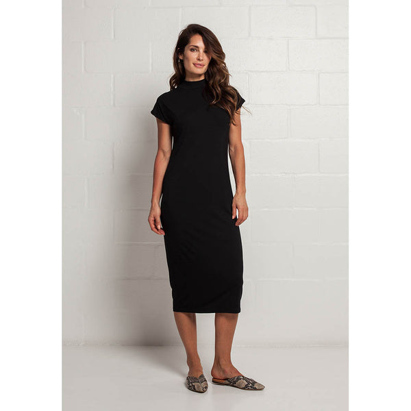 Claire Bamboo Dress | Capped Sleeve